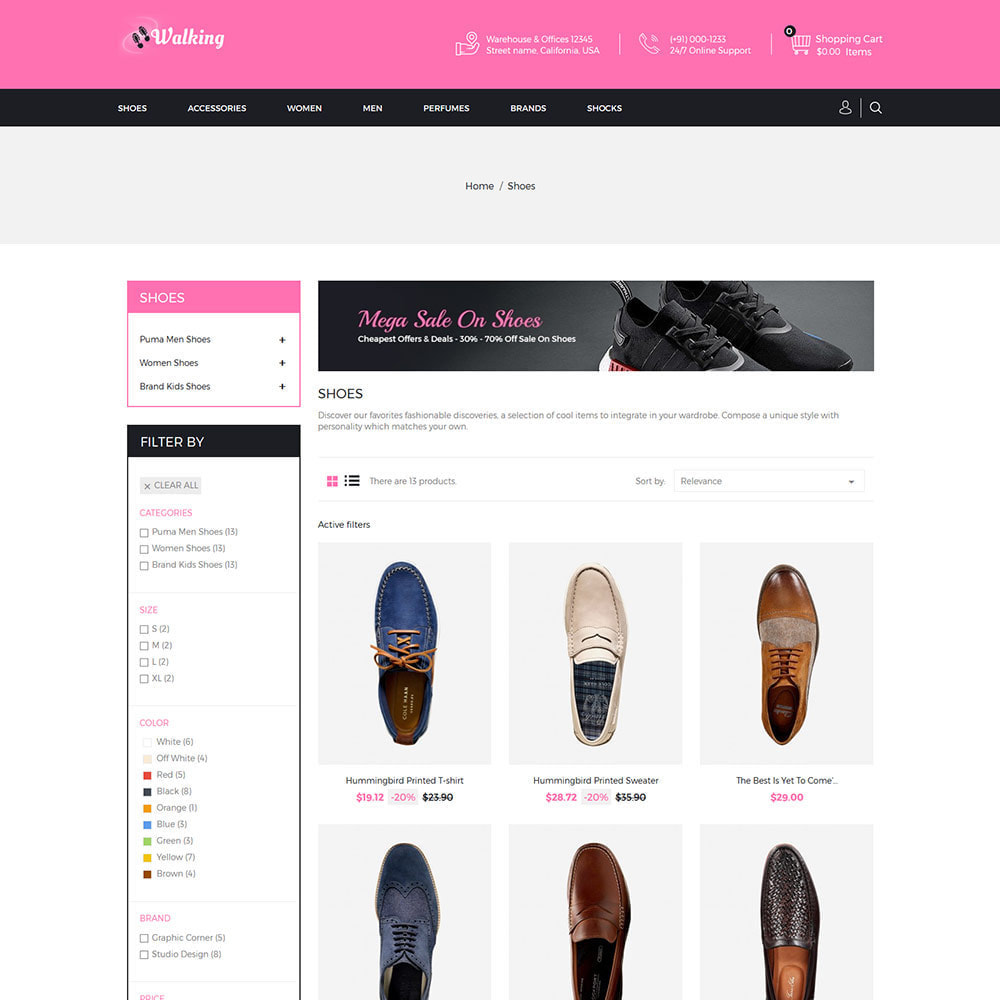 theme - Mode & Chaussures - Chaussures Slipper - Magasin de chaussures - 3