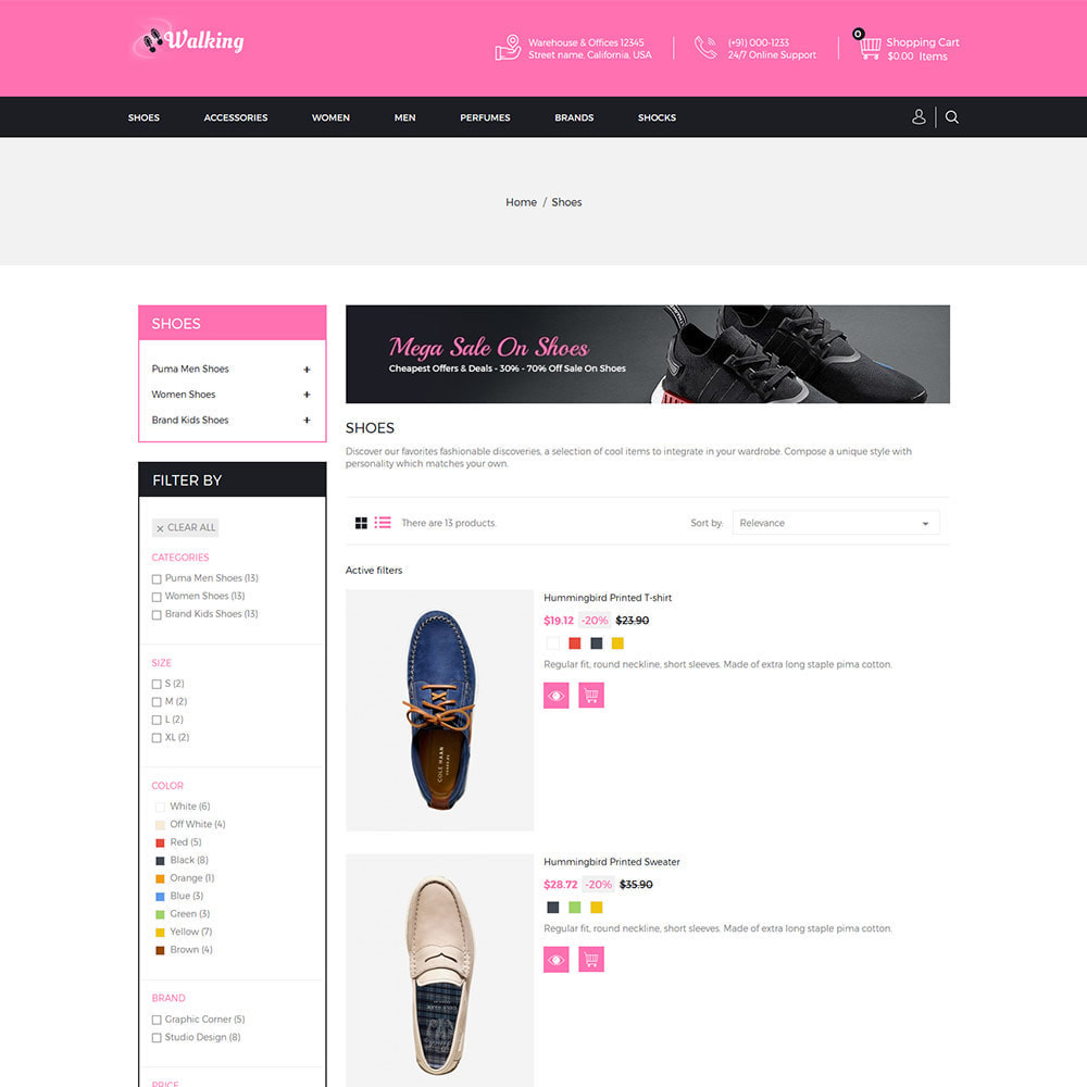 theme - Mode & Chaussures - Chaussures Slipper - Magasin de chaussures - 5