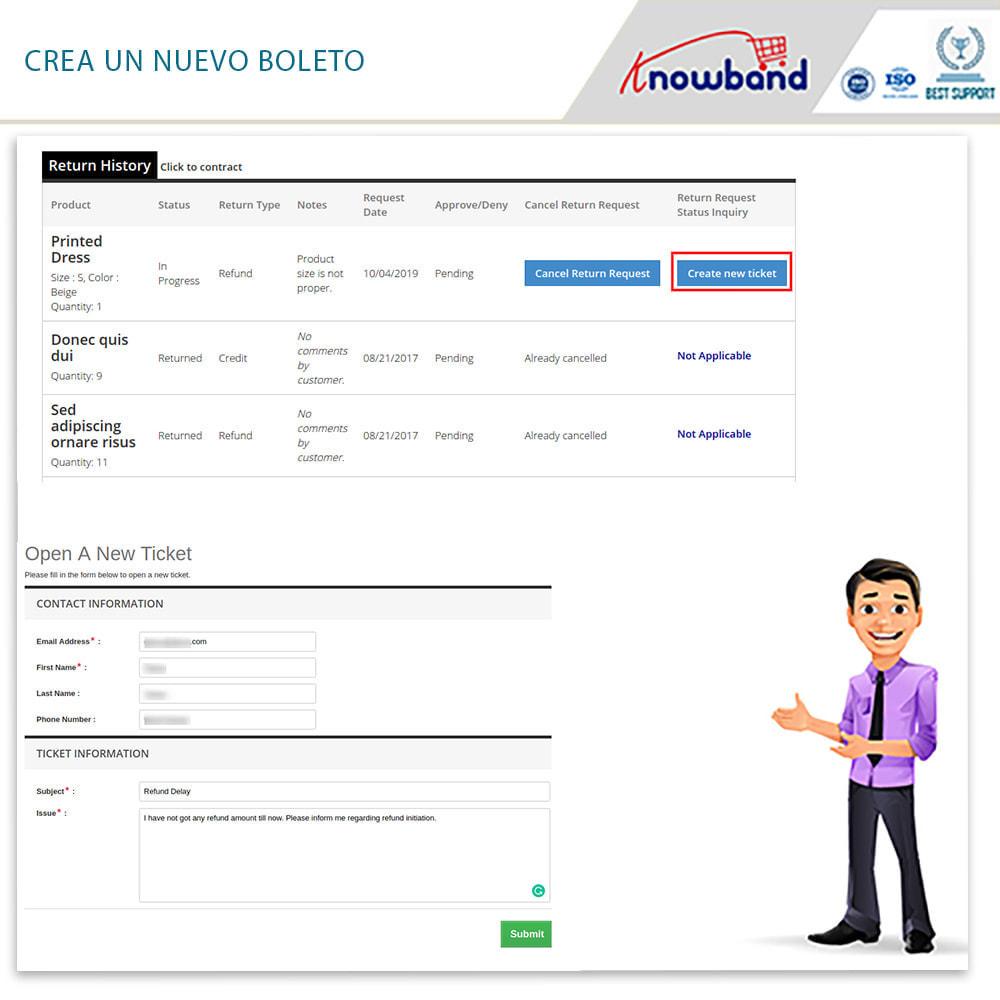 module - Servicio posventa - Knowband - Gestor de Devolución de Pedidos - 6