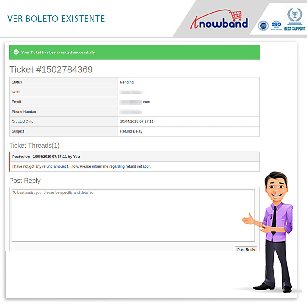 module - Servicio posventa - Knowband - Gestor de Devolución de Pedidos - 7