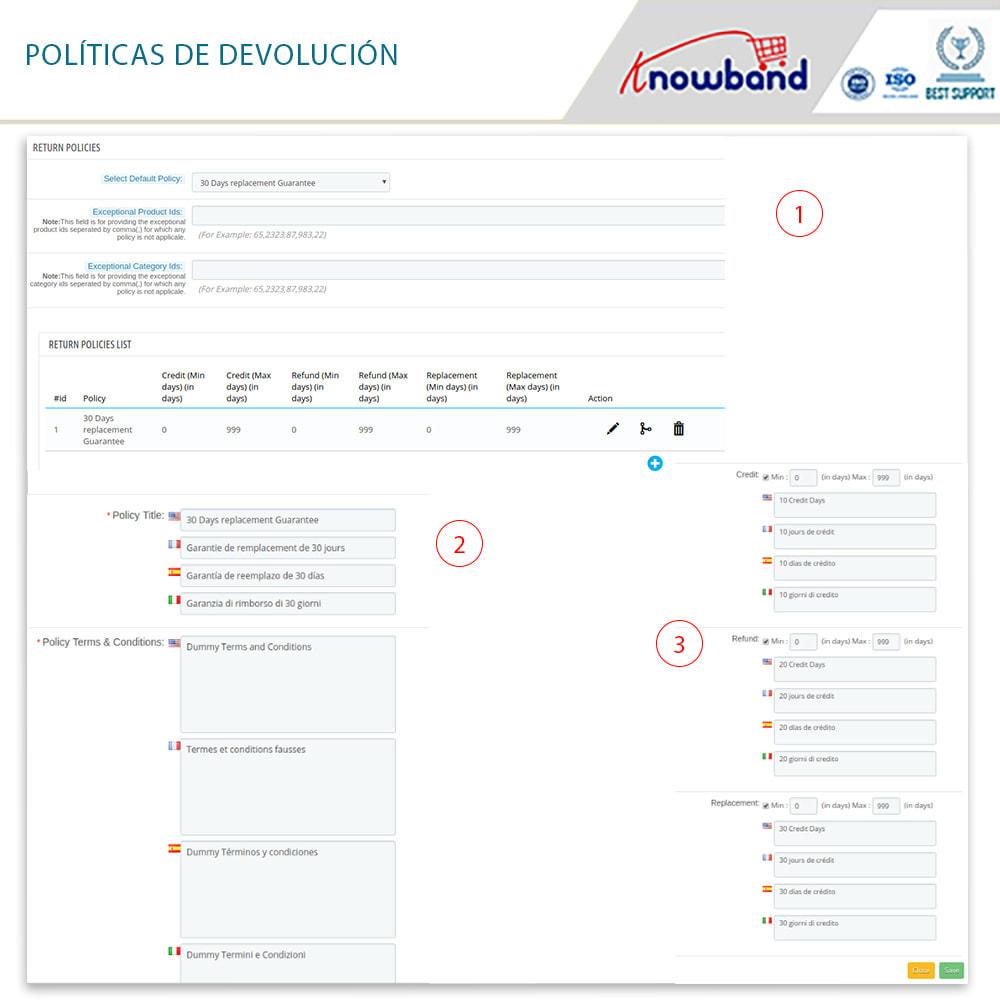 module - Servicio posventa - Knowband - Gestor de Devolución de Pedidos - 12