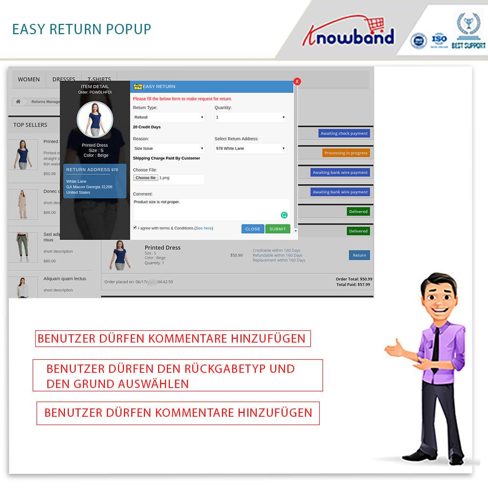 module - Kundenservice - Knowband - Bestellrückleiter-Rückschein mit Barcode - 4