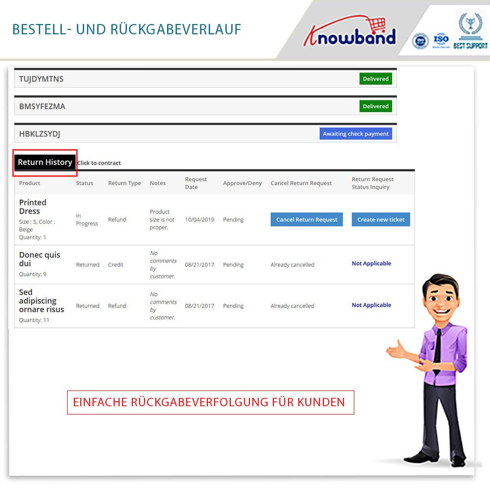 module - Kundenservice - Knowband - Bestellrückleiter-Rückschein mit Barcode - 5