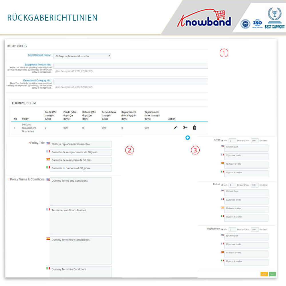 module - Kundenservice - Knowband - Bestellrückleiter-Rückschein mit Barcode - 12