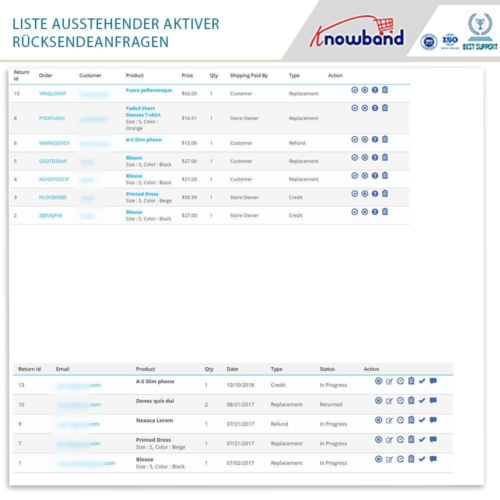 module - Kundenservice - Knowband - Bestellrückleiter-Rückschein mit Barcode - 18
