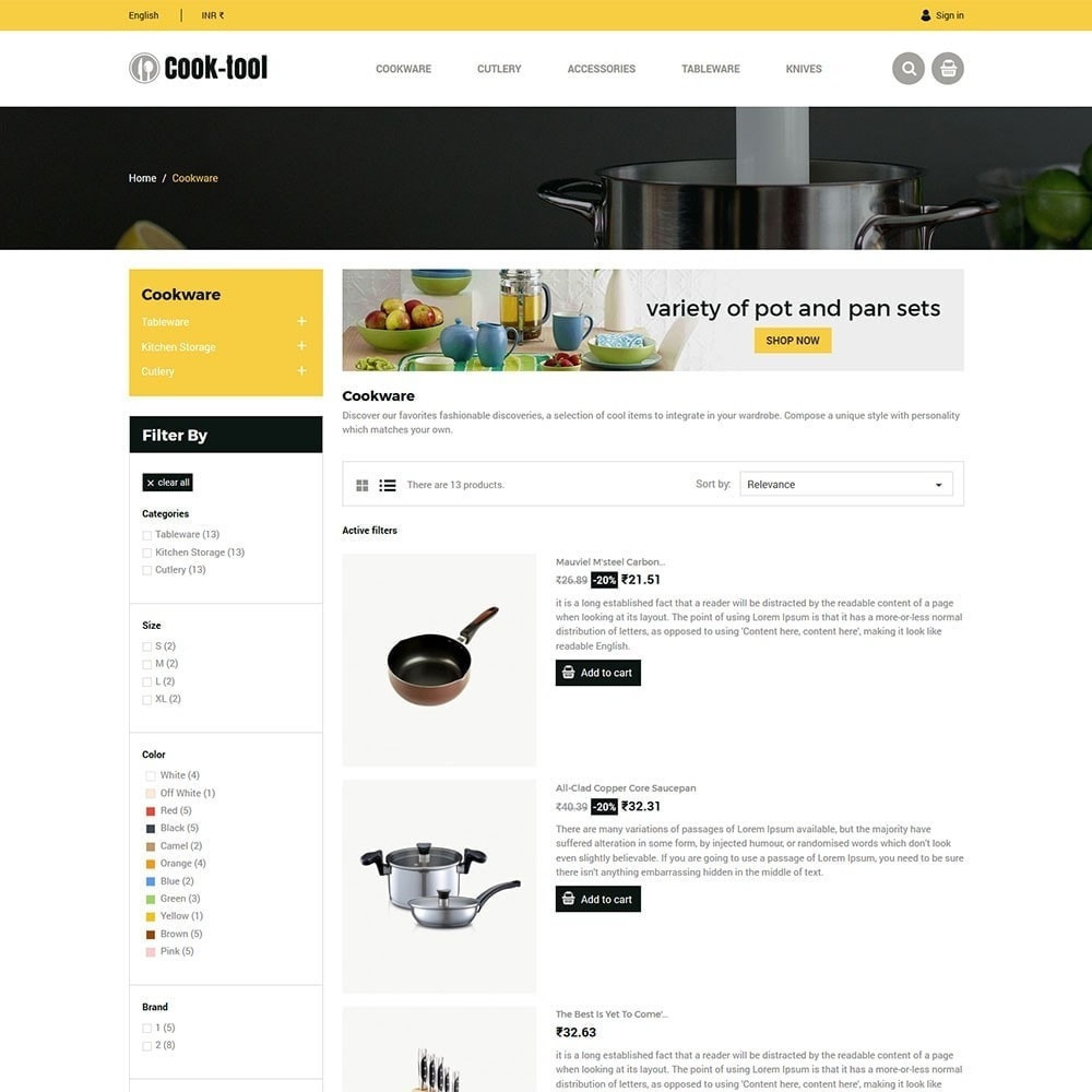 theme - Дом и сад - Cook tool - Loja de Arte e Decoração de Cozinha... - 5