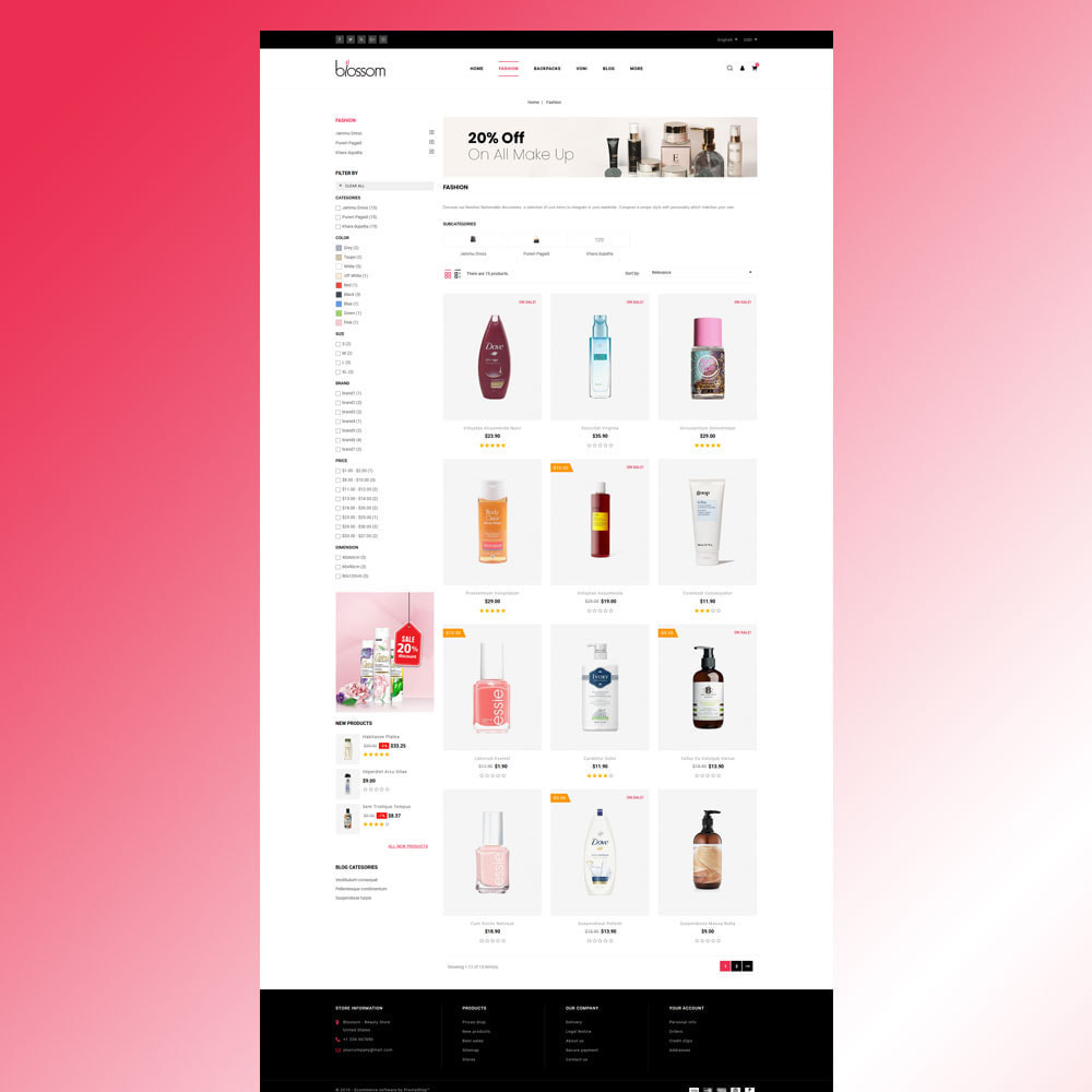 theme - Salute & Bellezza - Blossom - Beauty Store - 5