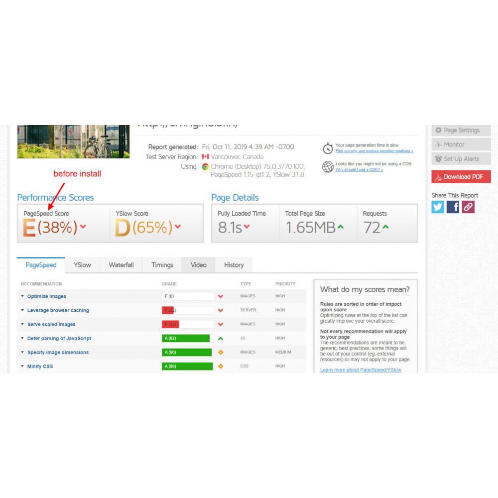 module - Website Performance - Ultimate Super Speed - GTmetrix - 4