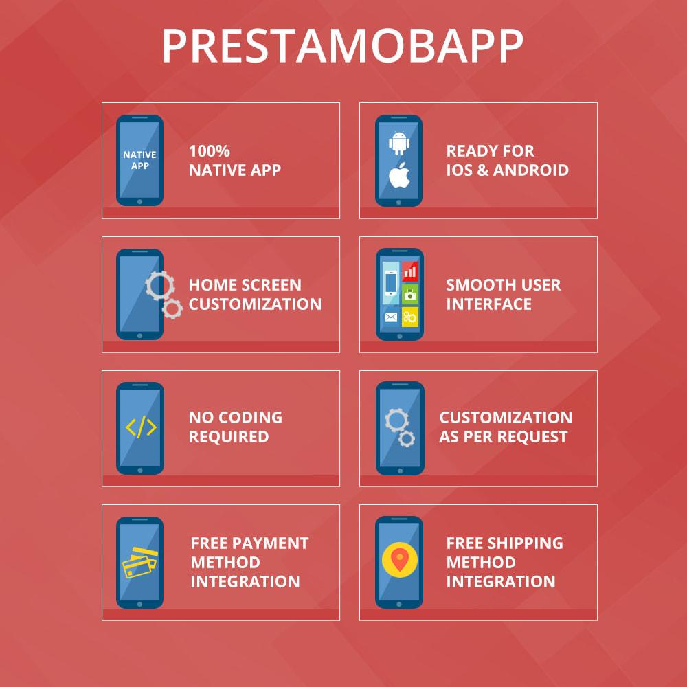 module - Dispositivos móviles - PrestaMobApp - Módulo de creación de app nativas - 2