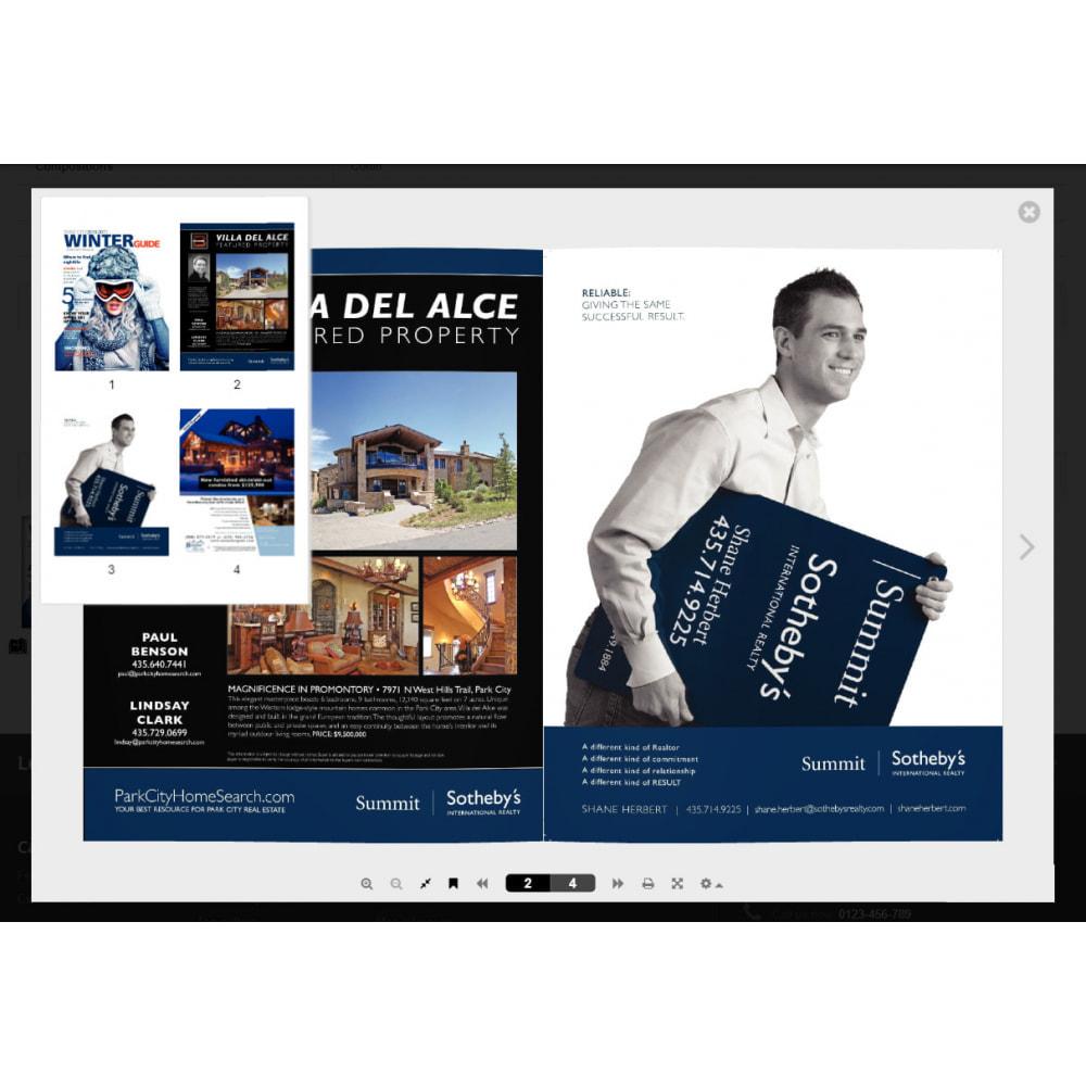 module - Visuels des produits - Flipbook 3D - 13