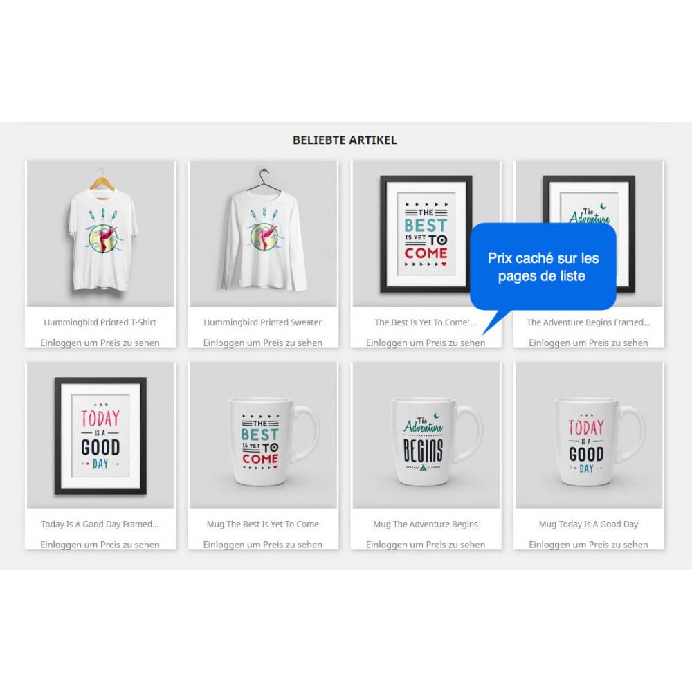 module - Anmeldung und Bestellvorgang - Preis Ausblenden & In den Warenkorb Legen Button - 2