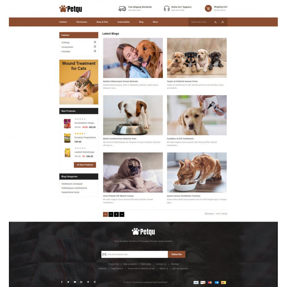 theme - Zwierzęta - Petqu - Pets Store - 9