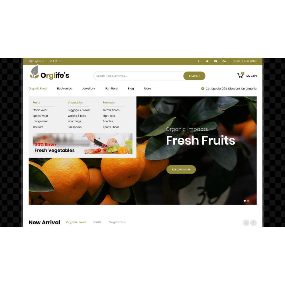 theme - Eten & Restaurant - Orglifes - Organic Store - 5