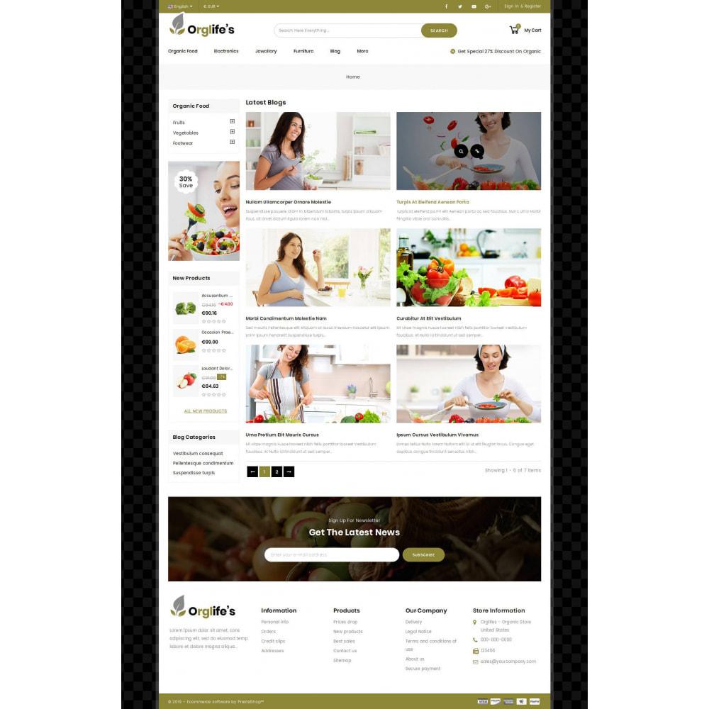 theme - Eten & Restaurant - Orglifes - Organic Store - 8