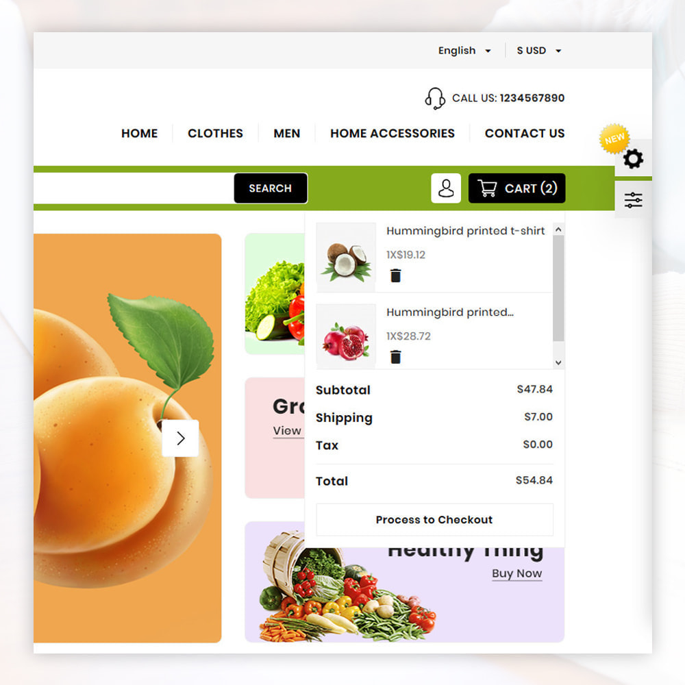 theme - Lebensmittel & Restaurants - Organic Store - 6