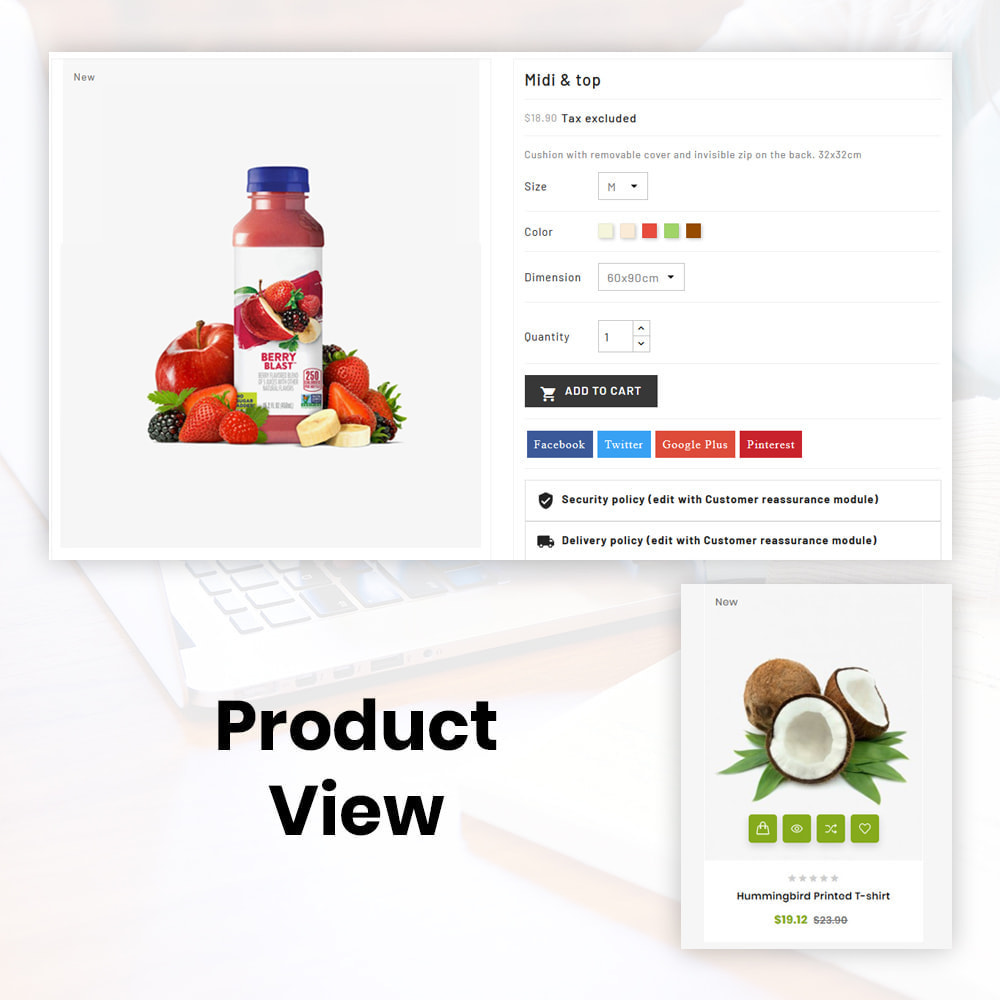 theme - Lebensmittel & Restaurants - Organic Store - 7