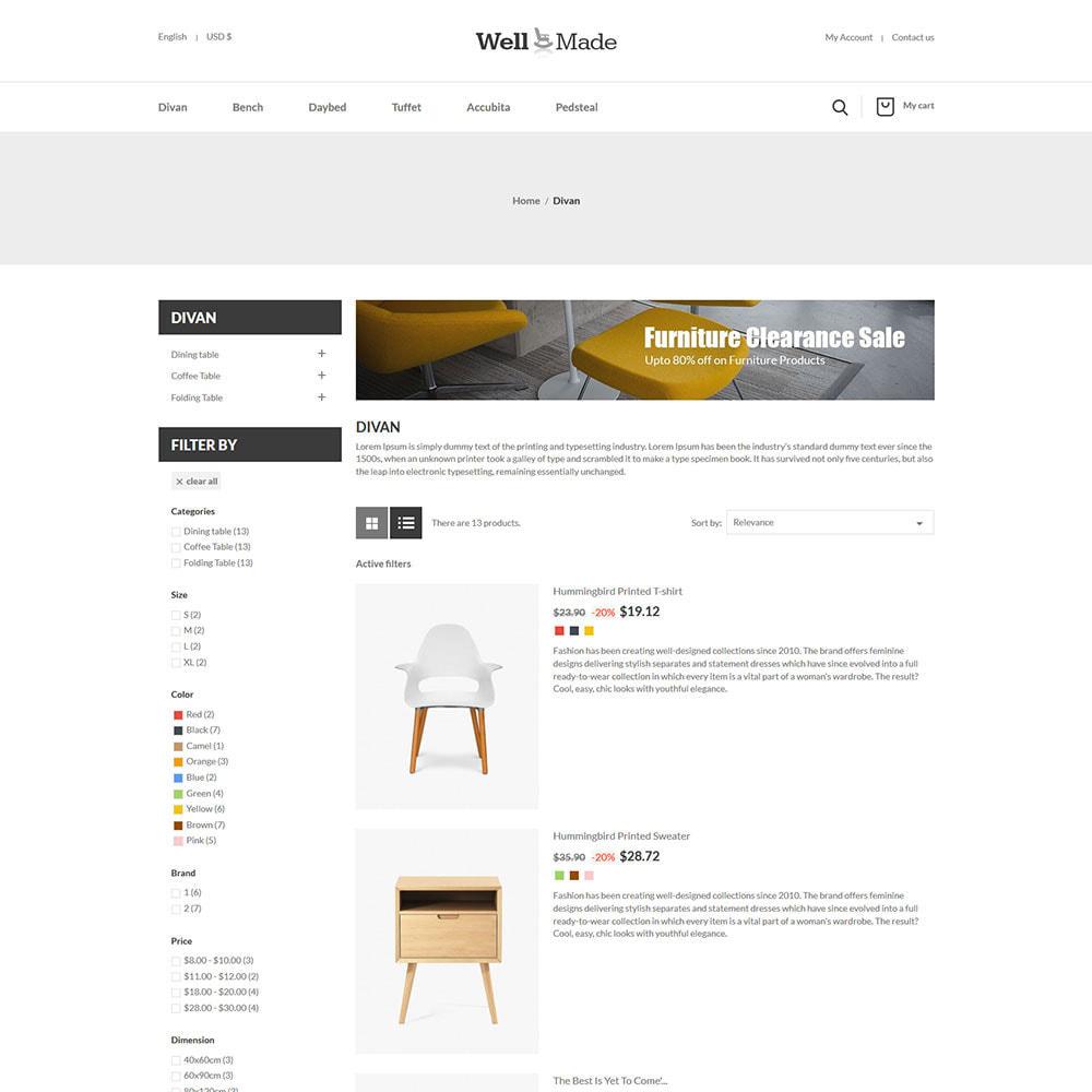 theme - Maison & Jardin - Meubles d'intérieur - Magasin de décoration de chaises - 6