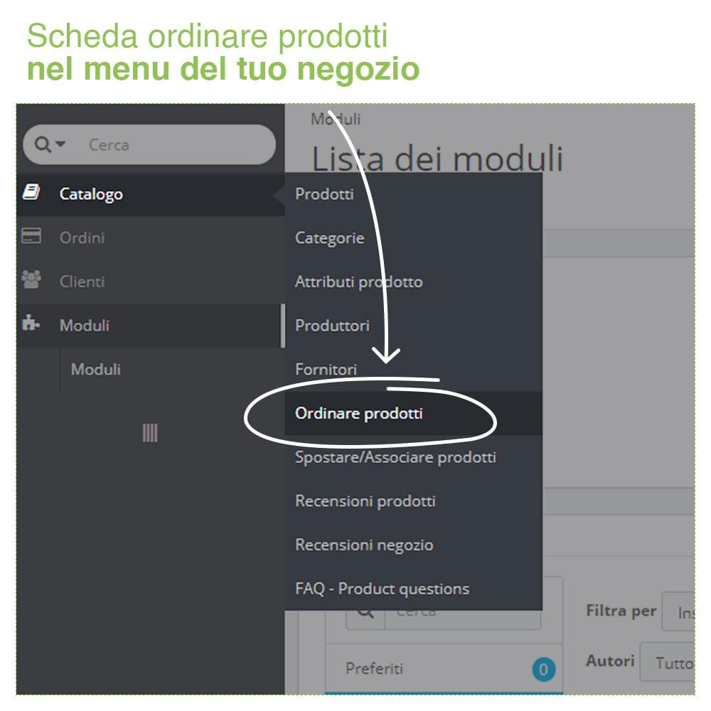 module - Modifica rapida & di massa - Ordinare Prodotti per Categoria- Ordine Visualizzazione - 2