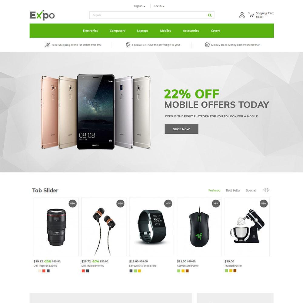 theme - Electronique & High Tech - Mobile - Magasin numérique pour téléphones intelligents - 3