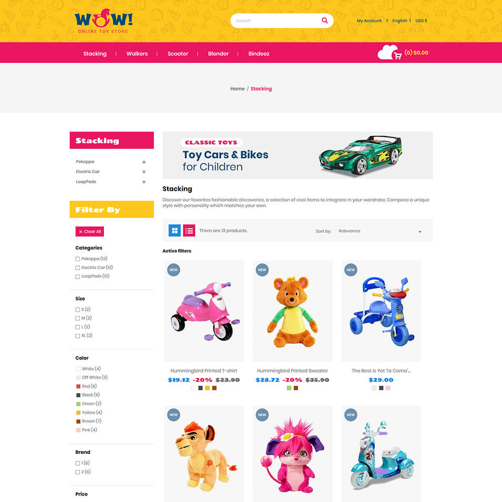 theme - Enfants & Jouets - Wow Kids - Magasin de jouets pour bébé - 4