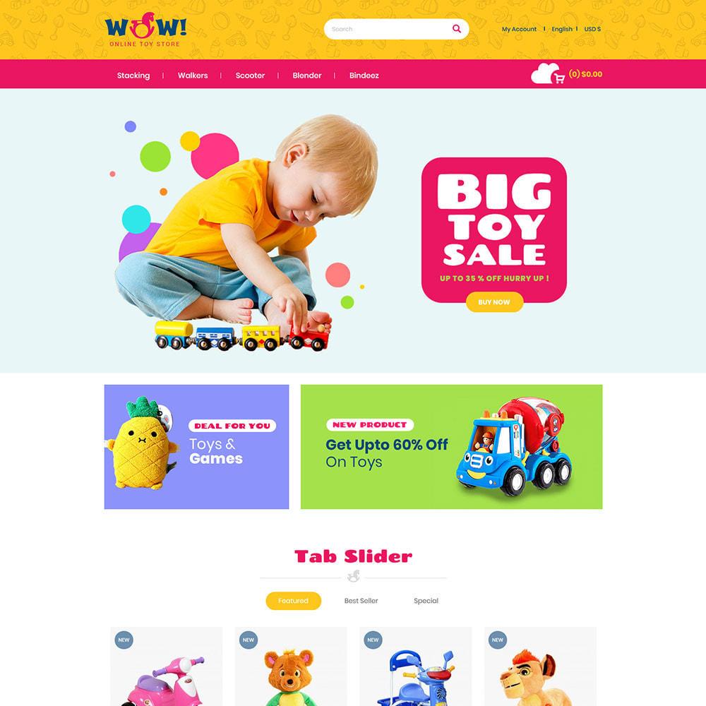 theme - Kinder & Spielzeug - Wow Kids - Spielzeug Baby Games Station Store - 3
