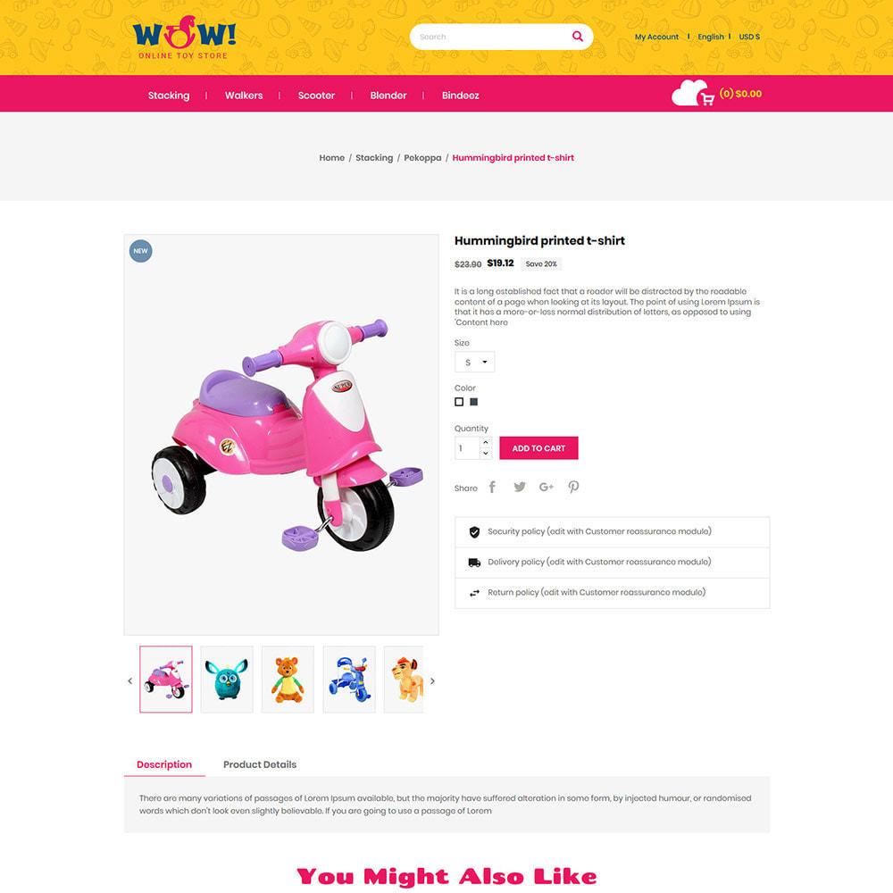 theme - Zabawki & Artykuły dziecięce - Wow Kids - Toys Baby Games Station Store - 6