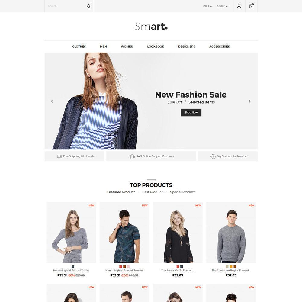 theme - Mode & Chaussures - Smart Bag - Magasin de vêtements de mode - 3