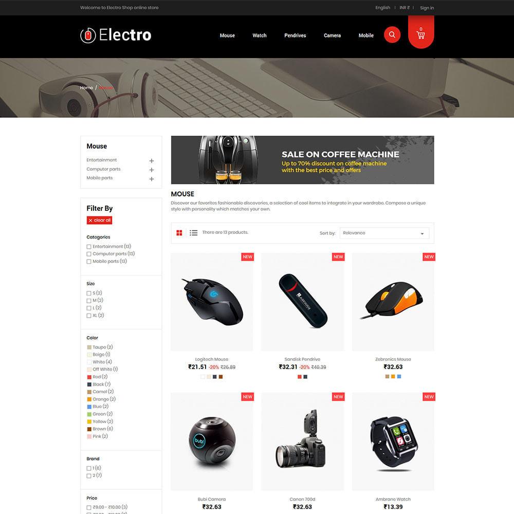 theme - Elettronica & High Tech - Electronics Mobile Digital - Negozio di computer - 4