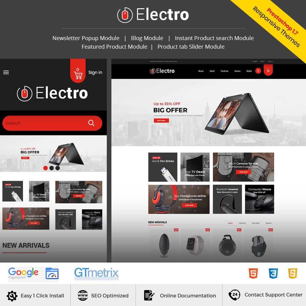theme - Elektronika & High Tech - Electronics Mobile Digital - Komputerowy sklep - 2