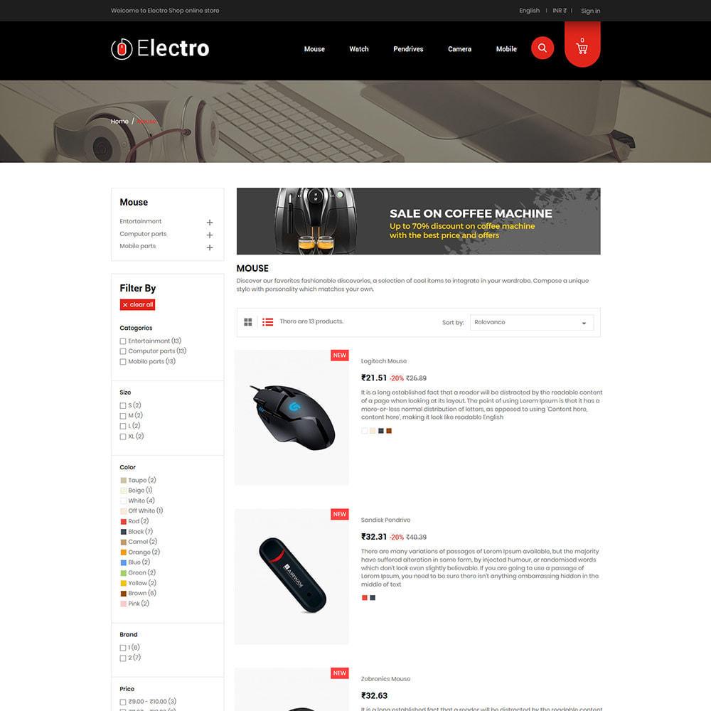 theme - Elektronika & High Tech - Electronics Mobile Digital - Komputerowy sklep - 5