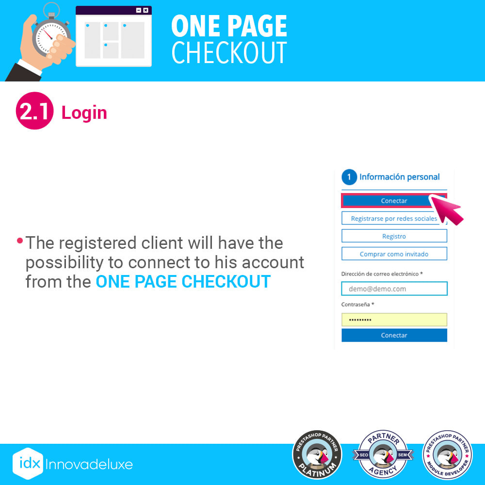 module - Processo de pedido - One page checkout - Fast purchase process - 4