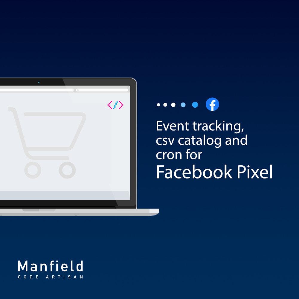 module - Productos en Facebook & redes sociales - Facebook Pixel + Track E-commerce + Catalogo e Cron - 2