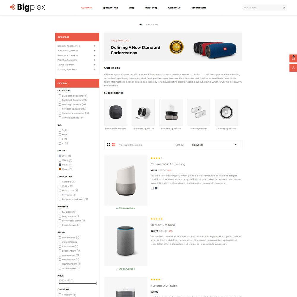 theme - Elettronica & High Tech - Bigplex negozio di elettronica - 6