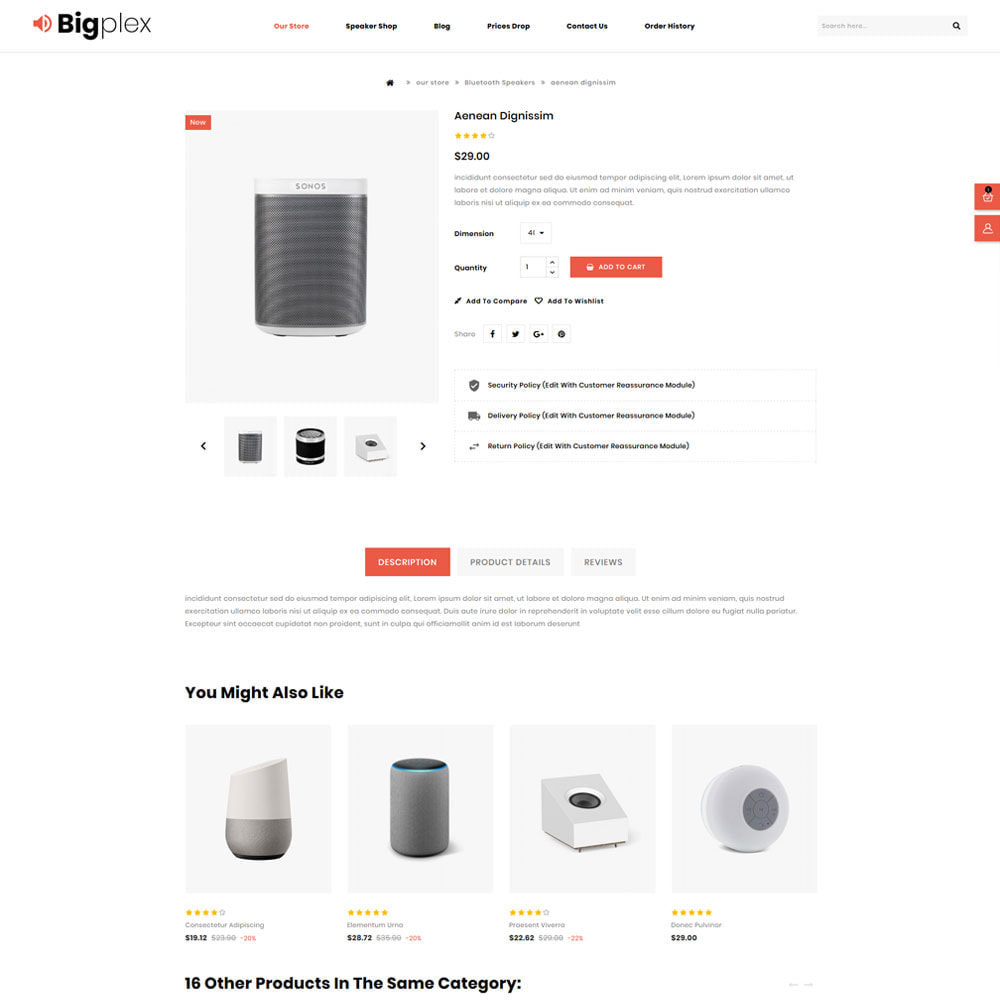 theme - Electronique & High Tech - Bigplex magasin d'électronique - 7