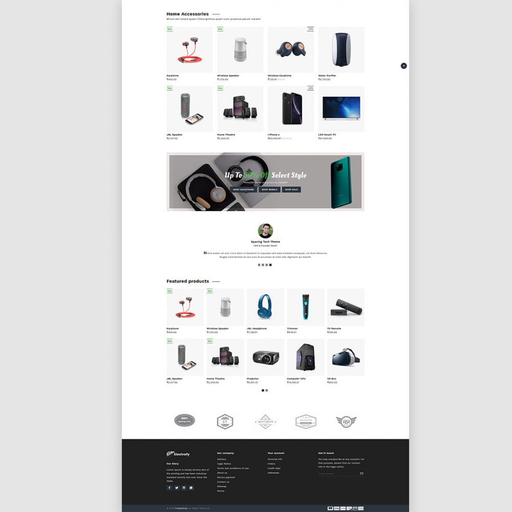 theme - Electronics & Computers - Electrofy - Electronics, Mobile Accessories - 4