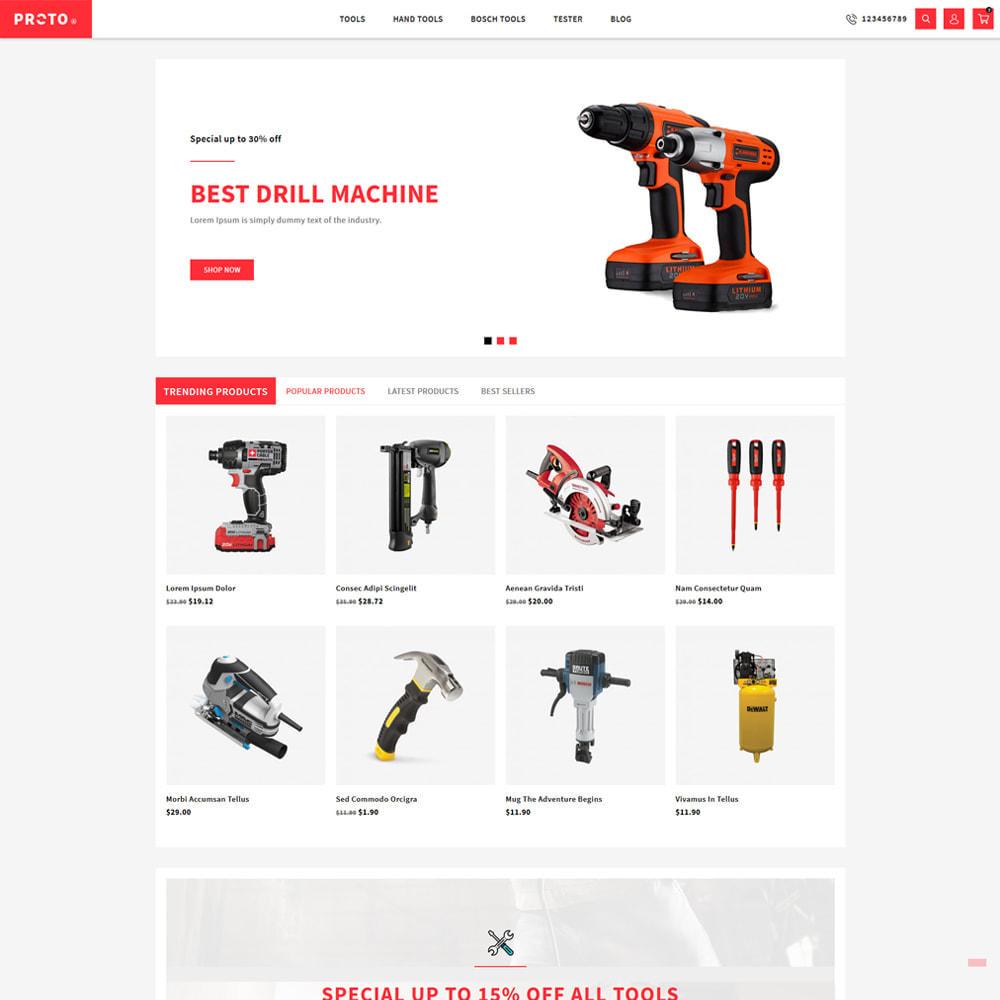 theme - Automotive & Cars - Proto Tools & Parts Shop - 2