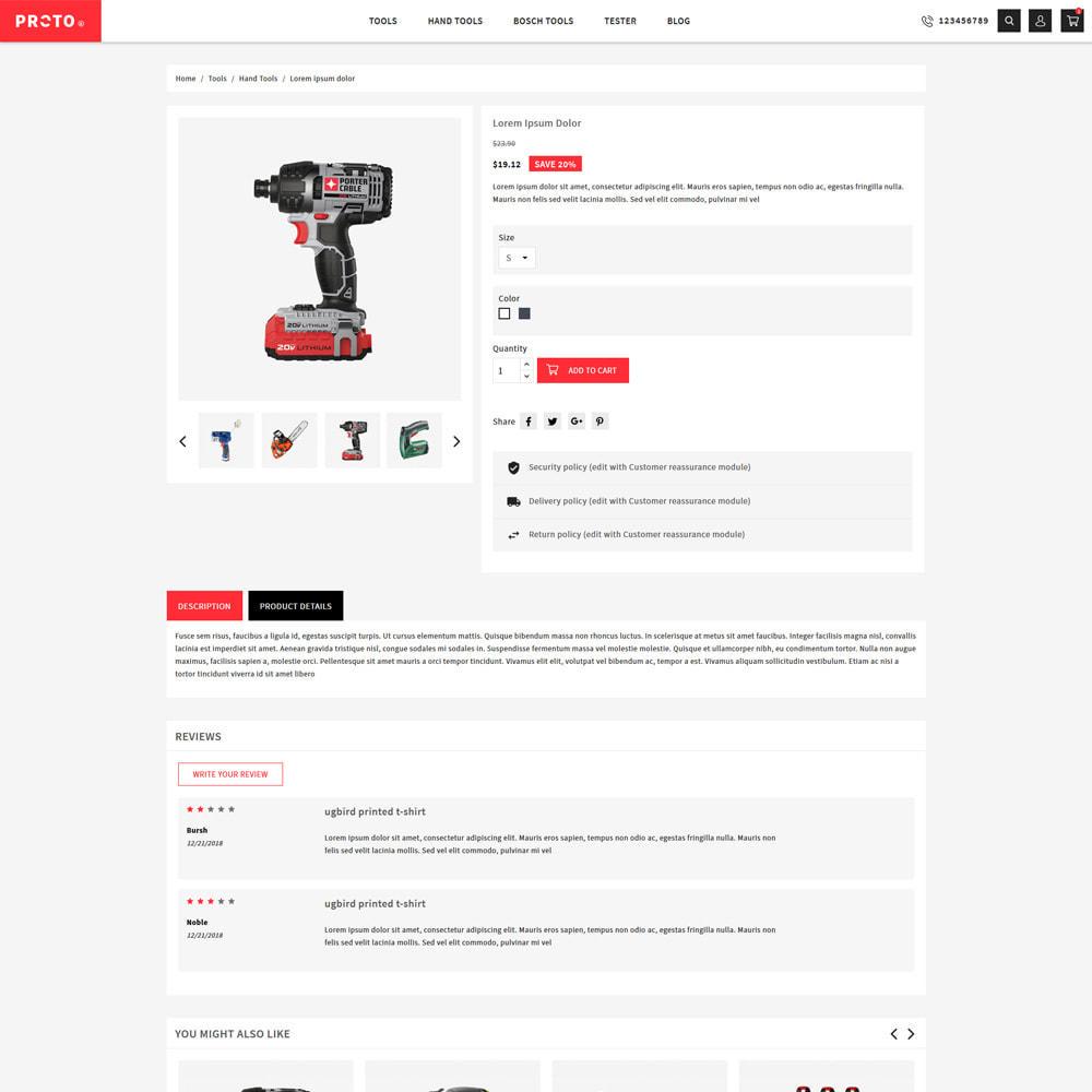 theme - Automotive & Cars - Proto Tools & Parts Shop - 5