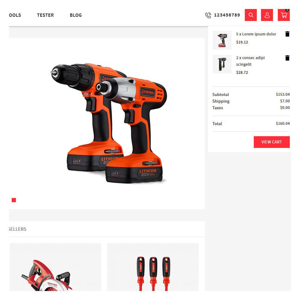 theme - Automotive & Cars - Proto Tools & Parts Shop - 7