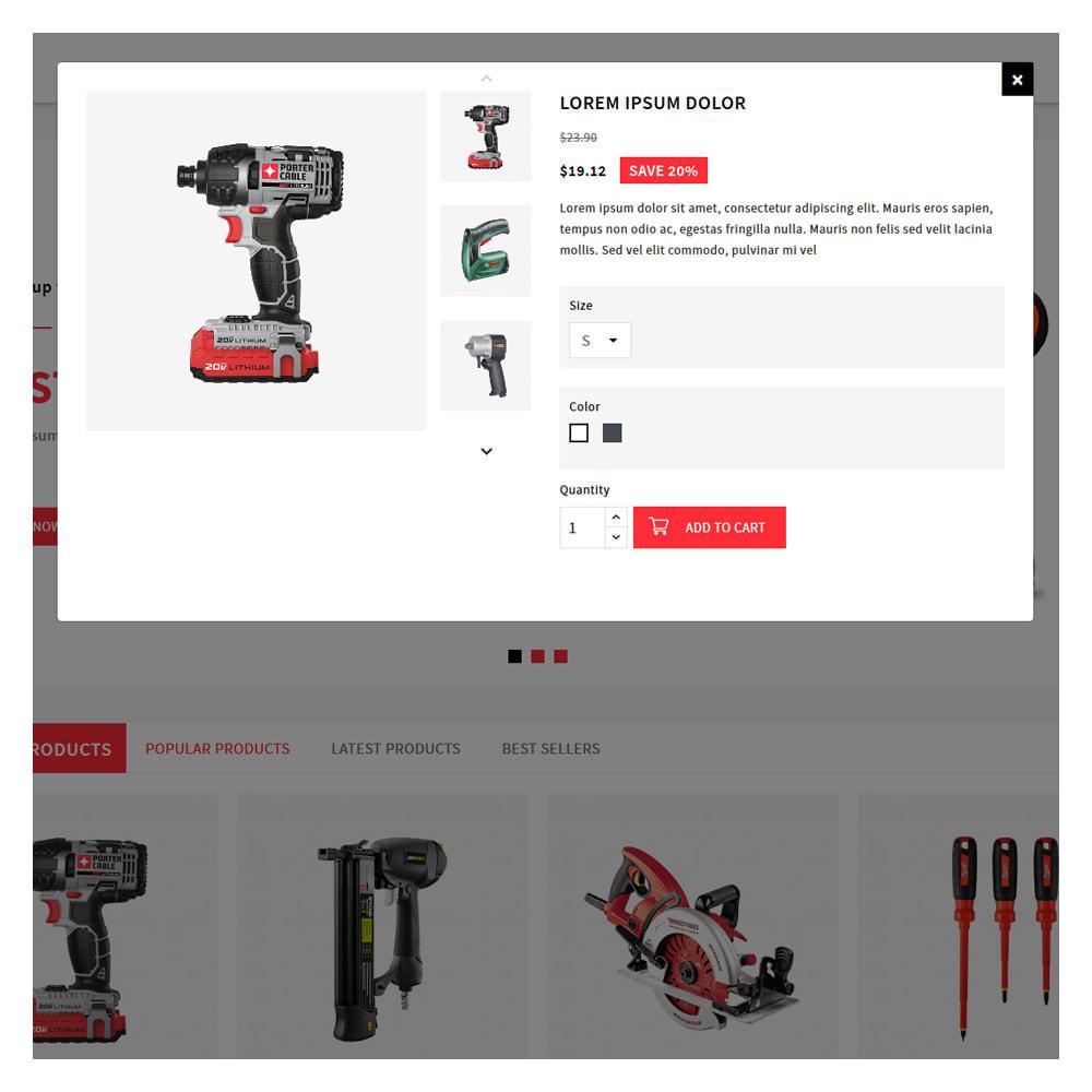 theme - Automotive & Cars - Proto Tools & Parts Shop - 9