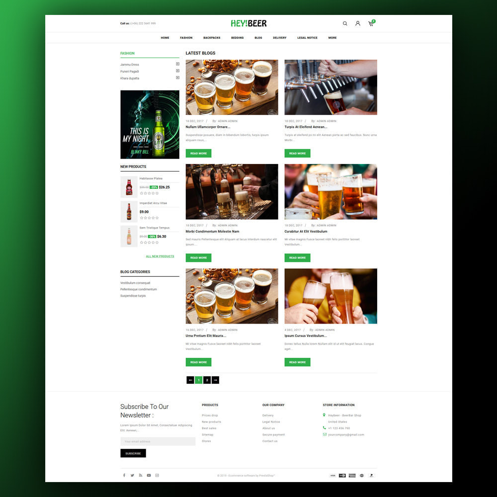 theme - Drink & Tobacco - Heybeer - Beer Store - 7