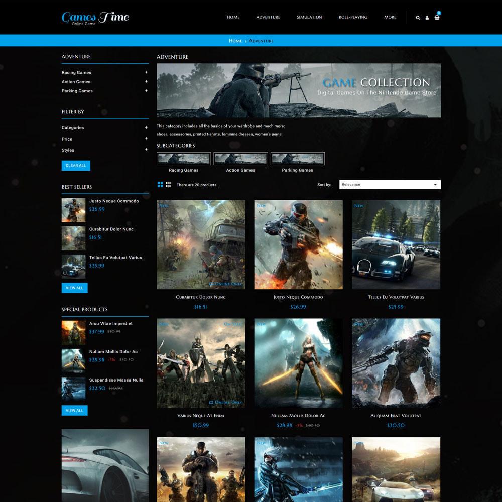 theme - Deportes, Actividades y Viajes - Gamestime Tienda de juegos - 4