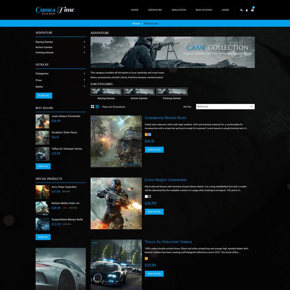theme - Deportes, Actividades y Viajes - Gamestime Tienda de juegos - 5