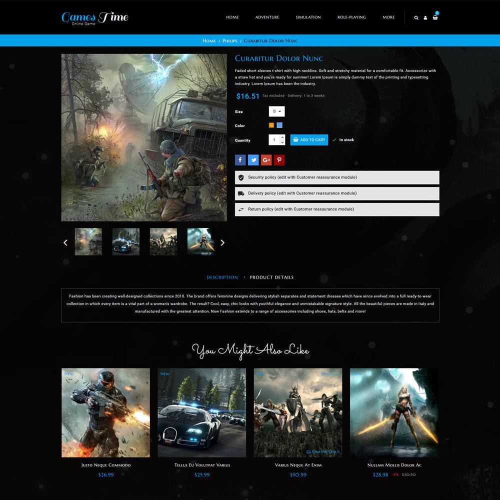theme - Deportes, Actividades y Viajes - Gamestime Tienda de juegos - 6
