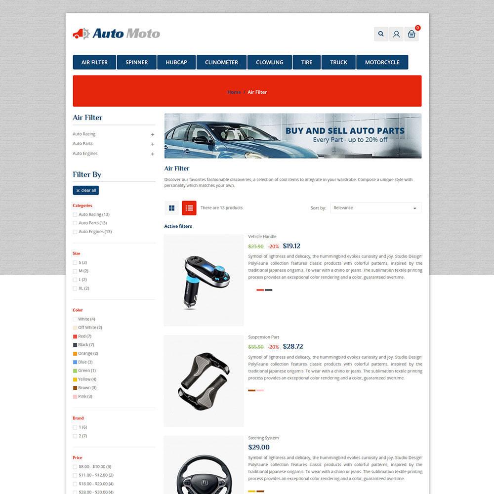 theme - Automotive & Cars - Auto Tool - Car Spare Parts Store - 4