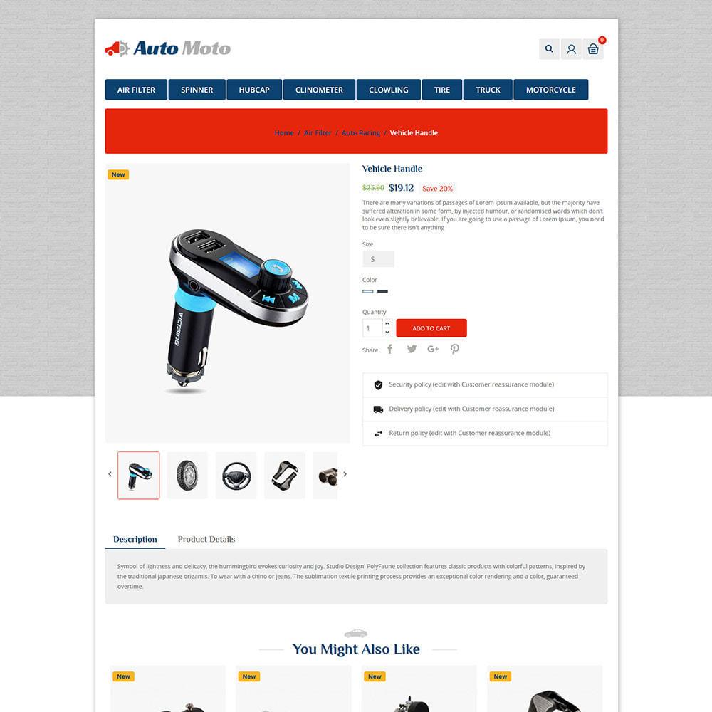 theme - Automotive & Cars - Auto Tool - Car Spare Parts Store - 5