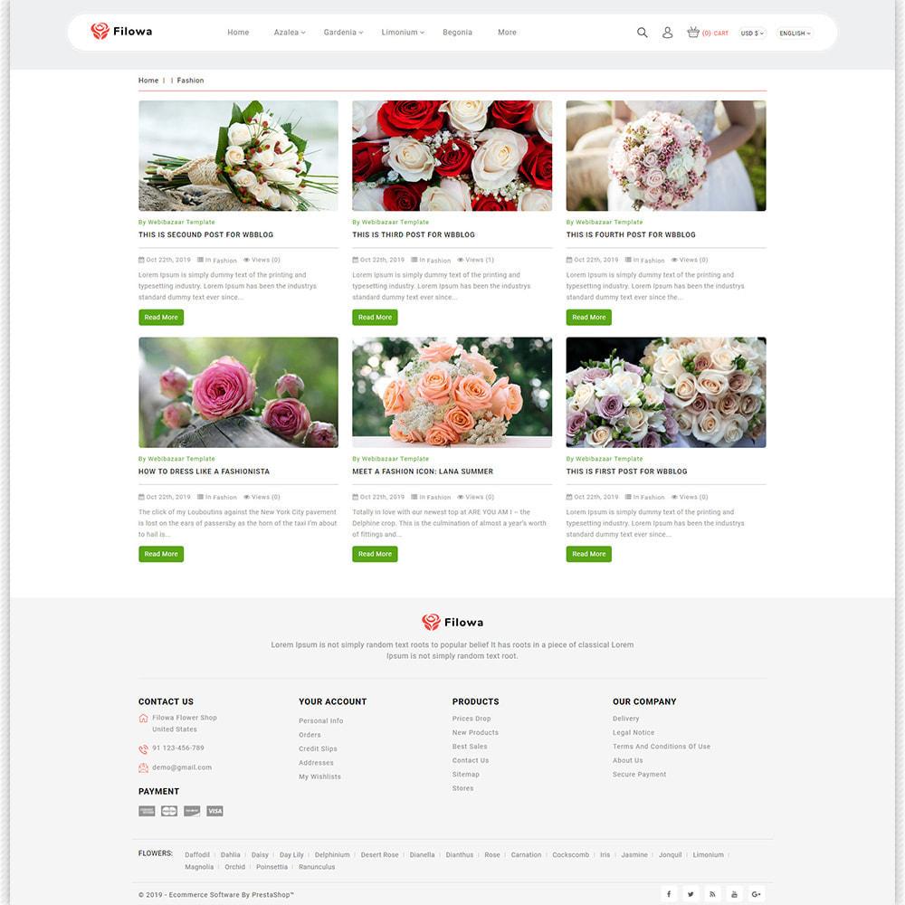 theme - Gifts, Flowers & Celebrations - Filowa - Flower Store - 9