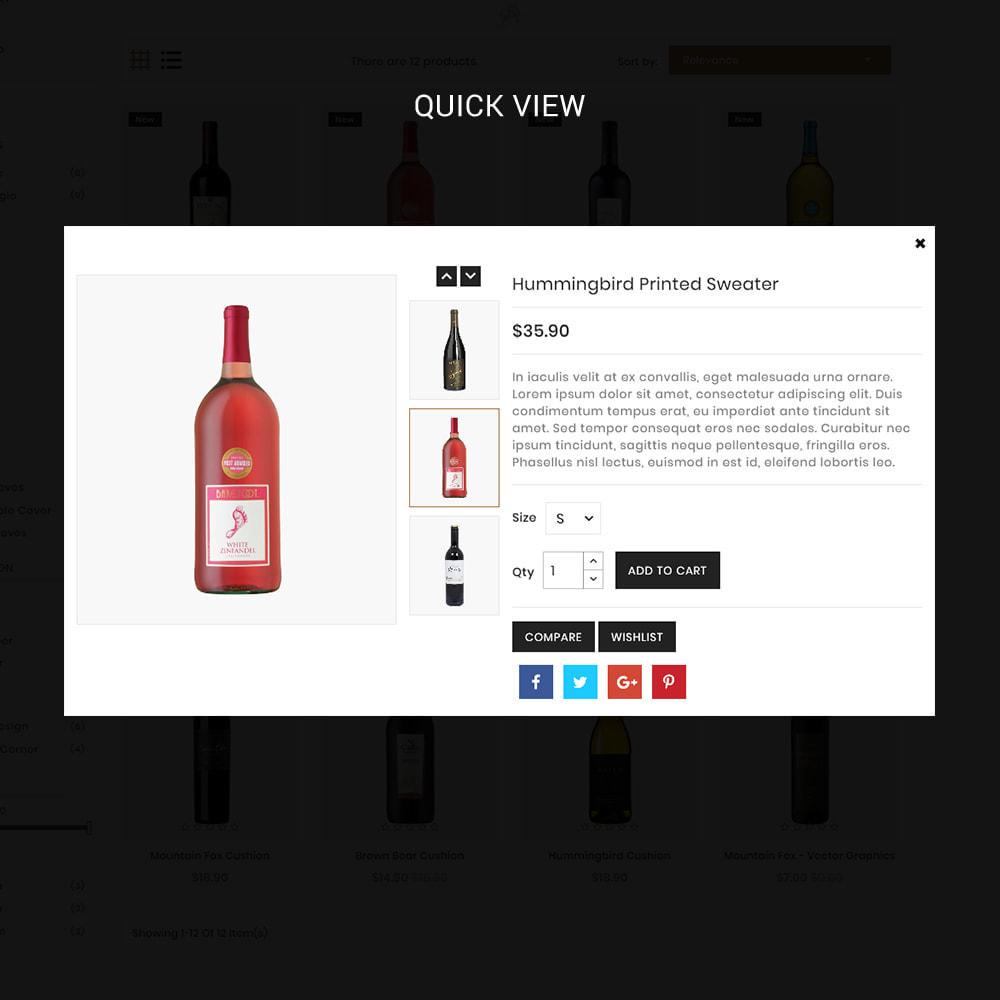 theme - Bebidas & Tabaco - WineClub - Wine - Drinks & Bar - 4