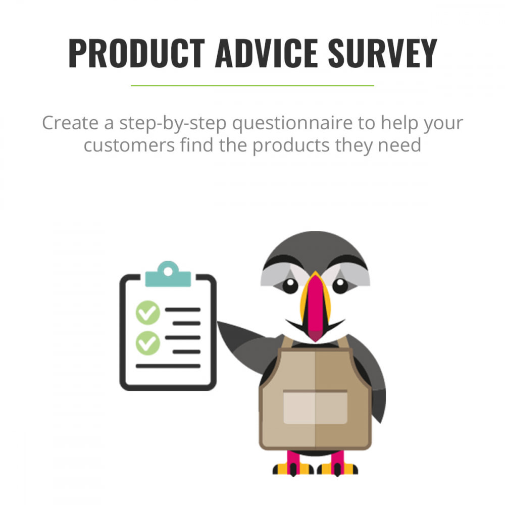 module - Contact Forms & Surveys - Product Advice Survey - 1