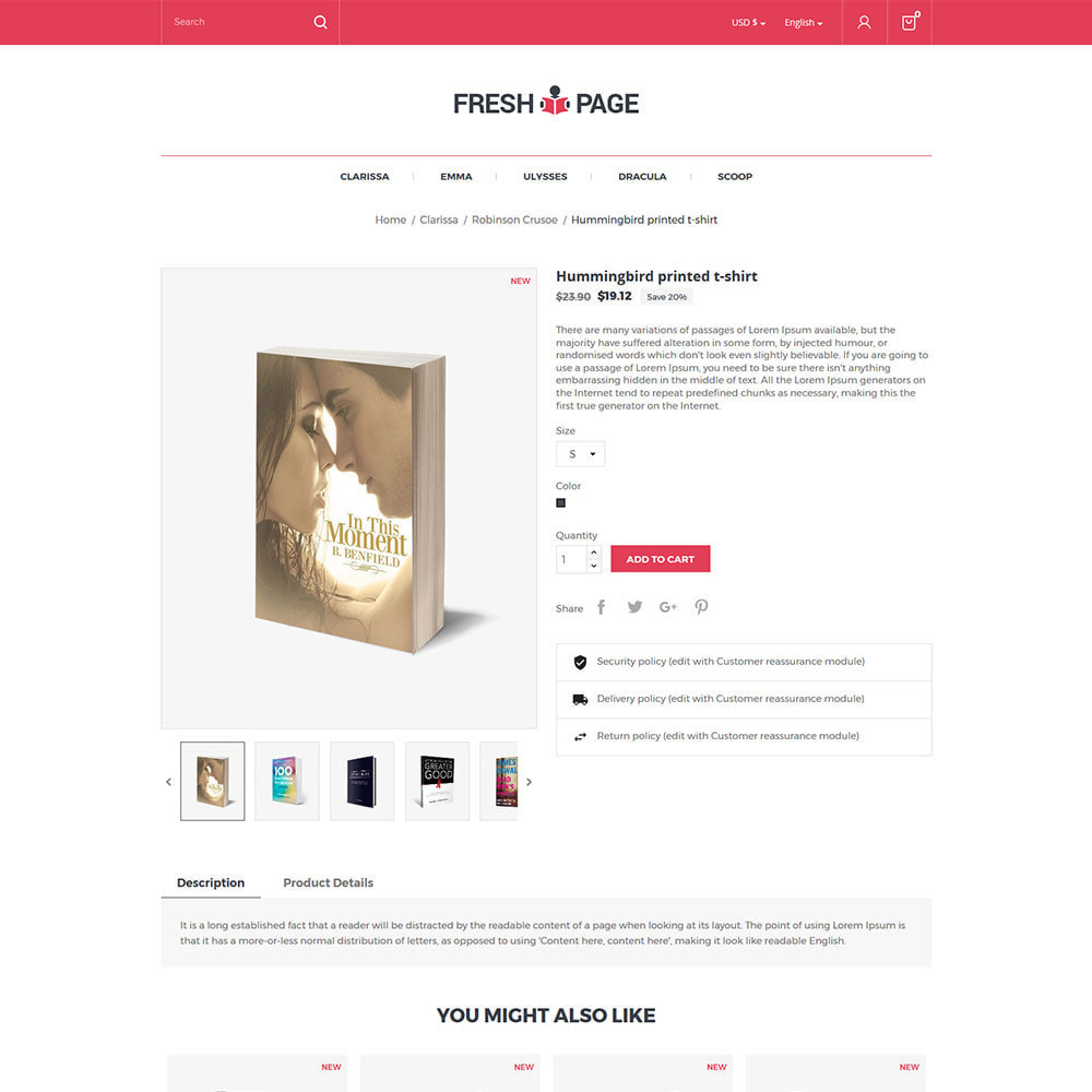 theme - Art & Culture - Fresh Page Book - Ebook Library Store - 5