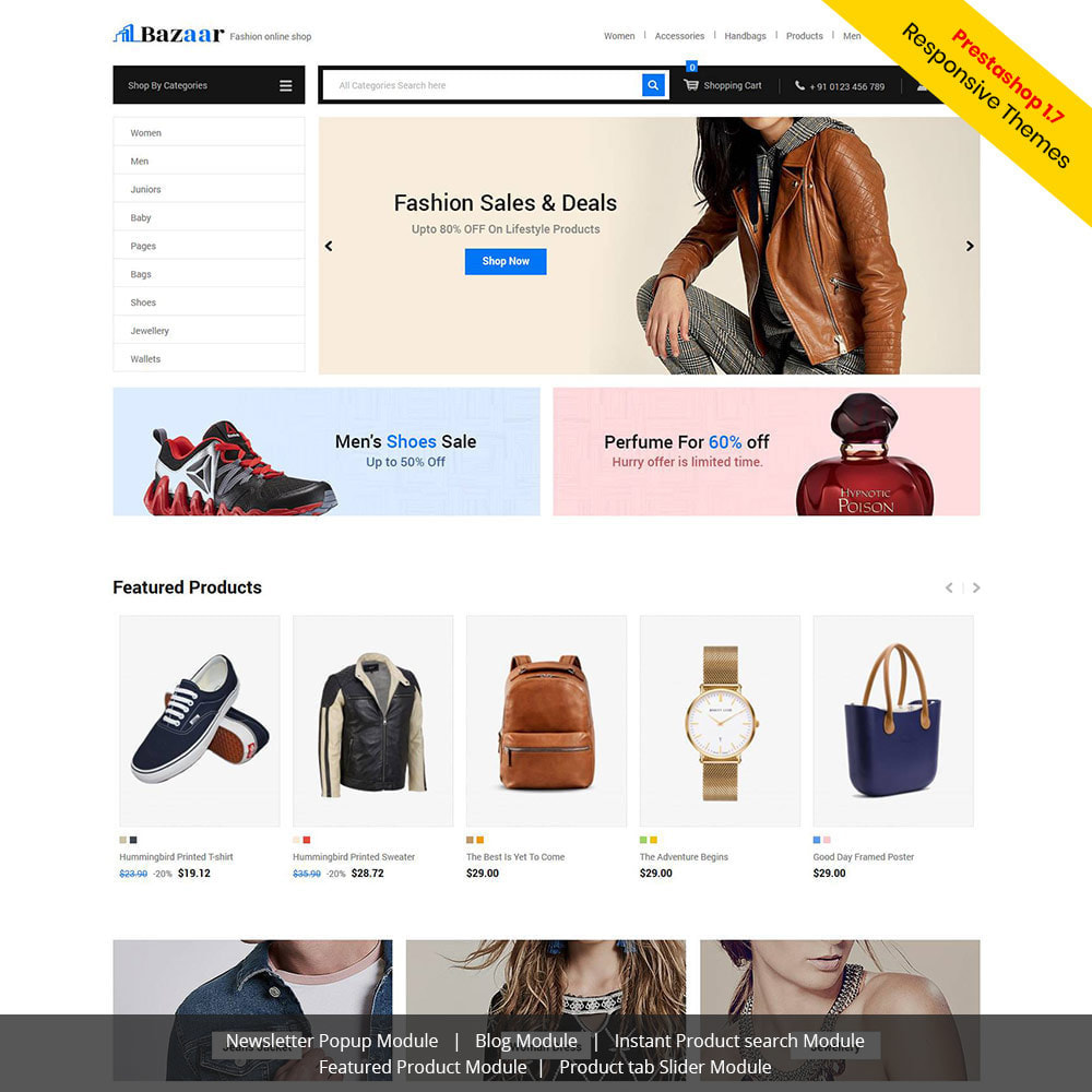 theme - Elektronika & High Tech - Bazaar - sklep z elektroniką mobilną - 1